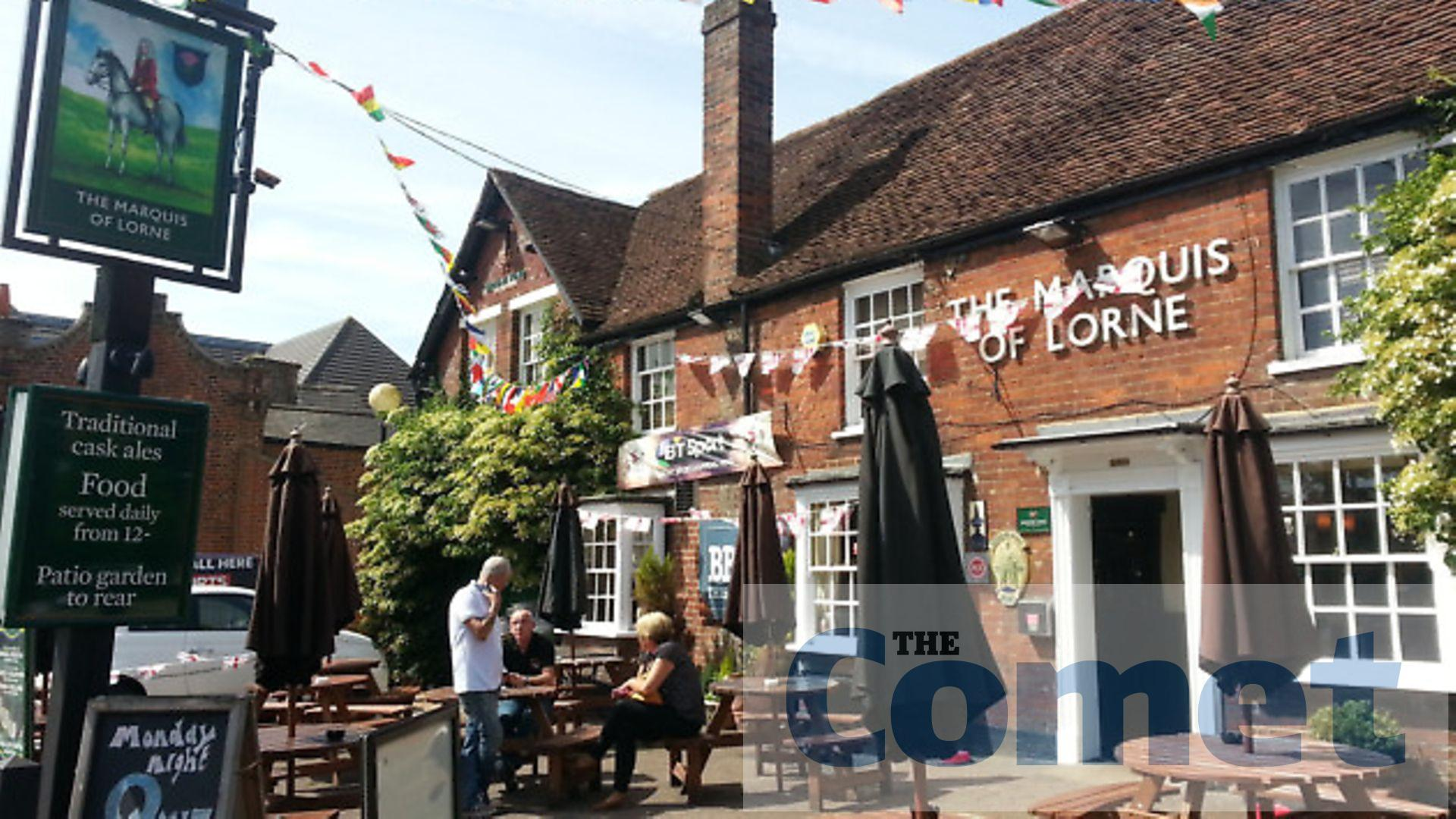 Stevenage Pub Withdraws From Hosting Edl Members Before March The Comet